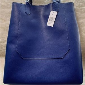 NWT No Brands Blue Large Tote/Bag